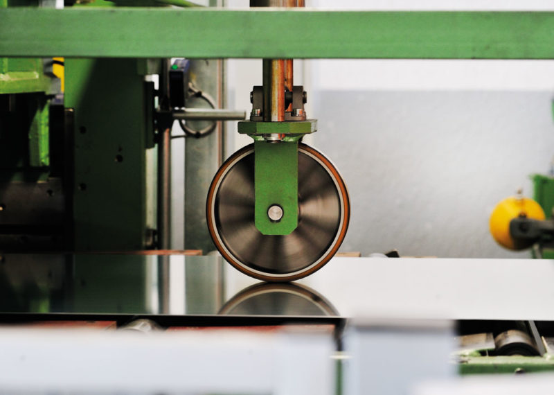 impianti di spianatura laminati a freddo rullo trasportatore per metalli